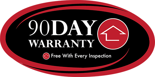 90-day warranty, free with every inspection.