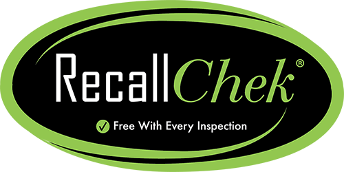 Recall Chek, free with every inspection.